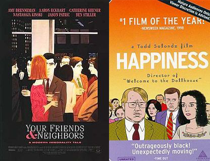 How Dark Should a Dark Comedy Be?: Your Friends & Neighbors / Happiness (1998)